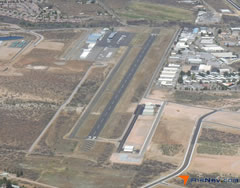 Aerial photo of P52 (Cottonwood Airport)