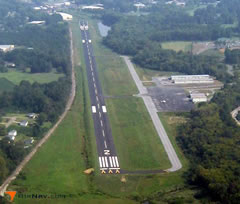 Aerial photo of 9A5 (Barwick Lafayette Airport)