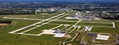 Aerial photo of KATW (Outagamie County Regional Airport)