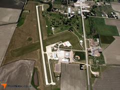 Aerial photo of 0V3 (Pioneer Village Field Airport)
