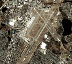 Aerial photo of KPVD (Theodore Francis Green State Airport)