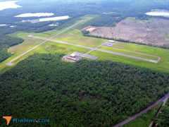 Aerial photo of KMPO (Pocono Mountains Municipal Airport)