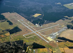 Aerial photo of KSBY (Salisbury-Ocean City Wicomico Regional Airport)