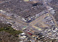 Aerial photo of KBUR (Bob Hope Airport)