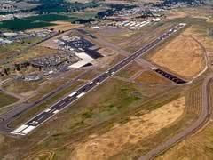 Aerial photo of KMFR (Rogue Valley International - Medford Airport)