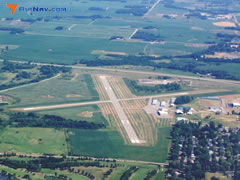 Aerial photo of KAEL (Albert Lea Municipal Airport)