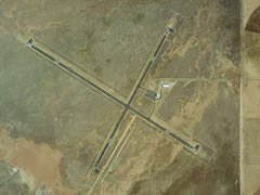 Aerial photo of KAZC (Colorado City Municipal Airport)