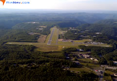 Aerial photo of KBKW (Raleigh County Memorial Airport)