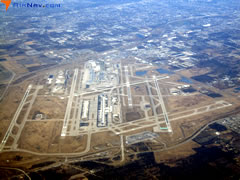 Aerial photo of KDTW (Detroit Metropolitan Wayne County Airport)