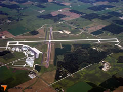 Aerial photo of KSBM (Sheboygan County Memorial Airport)