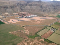 Aerial photo of 1L8 (General Dick Stout Field Airport)
