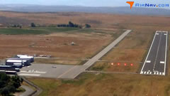 Aerial photo of KWRL (Worland Municipal Airport)