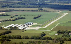 Aerial photo of I68 (Warren County Airport/John Lane Field)
