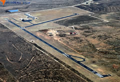 Aerial photo of 5F1 (Post-Garza County Municipal Airport)