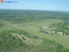 Aerial photo of D25 (Manitowish Waters Airport)