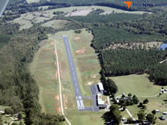 Aerial photo of W81 (Crewe Municipal Airport)