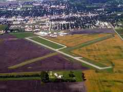 Aerial photo of KBWP (Harry Stern Airport)