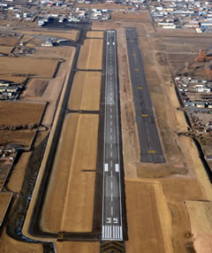 Aerial photo of KVEL (Vernal Regional Airport)