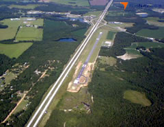 Aerial photo of KMHP (Metter Municipal Airport)