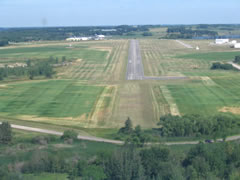 Aerial photo of KDTL (Detroit Lakes Airport-Wething Field)
