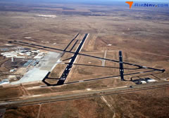 Aerial photo of KMAF (Midland International Air and Space Port Airport)