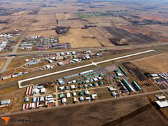 Aerial photo of Y14 (Marv Skie-Lincoln County Airport)
