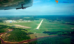 Aerial photo of KADM (Ardmore Municipal Airport)