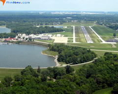 Aerial photo of KEYE (Eagle Creek Airpark)