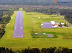 Aerial photo of KJES (Jesup-Wayne County Airport)