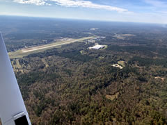 Aerial photo of 3J7 (Greene County Regional Airport)