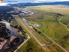 Aerial photo of U70 (Cascade Airport)