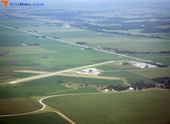 Aerial photo of KPRO (Perry Municipal Airport)