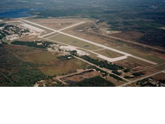 Aerial photo of KAPN (Alpena County Regional Airport)