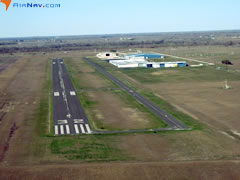 Aerial photo of KARM (Wharton Regional Airport)