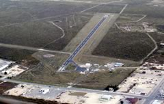Aerial photo of E41 (Reagan County Airport)