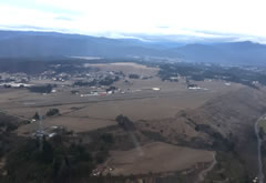 Aerial photo of KFOT (Rohnerville Airport)