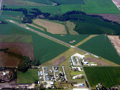 Aerial photo of KPHG (Phillipsburg Municipal Airport)