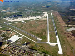 Aerial photo of KWRI (McGuire Field (Joint Base Mc Guire Dix Lakehurst) Airport)