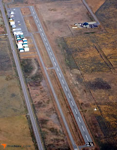 Aerial photo of O02 (Nervino Airport)