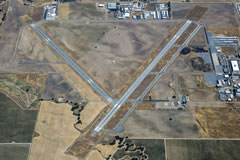 Aerial photo of KPRB (Paso Robles Municipal Airport)