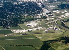 Aerial photo of T74 (Taylor Municipal Airport)