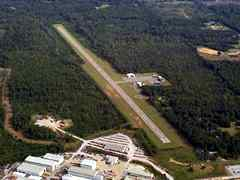 Aerial photo of KLMS (Louisville Winston County Airport)
