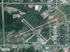Aerial photo of KJXN (Jackson County Airport-Reynolds Field)