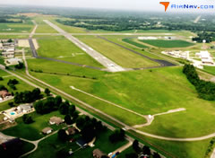 Aerial photo of KPAH (Barkley Regional Airport)