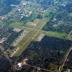 Aerial photo of KANE (Anoka County-Blaine Airport (Janes Field))