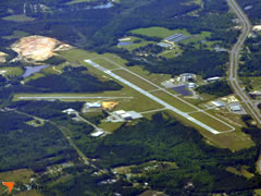 Aerial photo of 79J (South Alabama Regional Airport at Bill Benton Field)