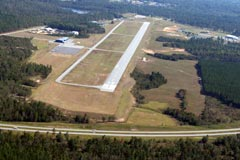 Aerial photo of KSBO (East Georgia Regional Airport)
