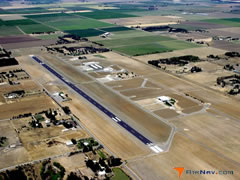 Aerial photo of KDWA (Yolo County Airport)