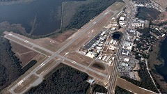 Aerial photo of KLEE (Leesburg International Airport)