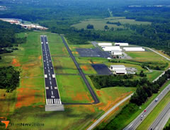 Aerial photo of KEXX (Davidson County Airport)